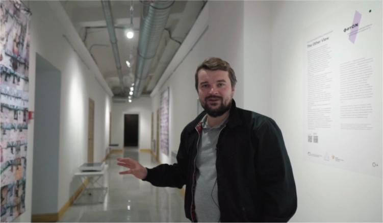 «ФотON»: кураторская видео-экскурсия по выставке-инсталляции Елены Никоноле «The Other View»