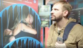 «ФотON»: авторская видео-экскурсия Игоря Самолёта по выставке-инсталляции «End to end»